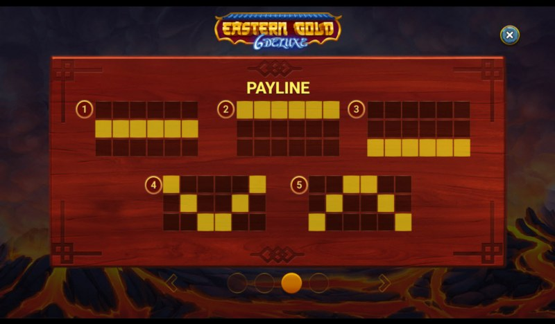 Eastern Gold 6 Deluxe :: Paylines 1-5