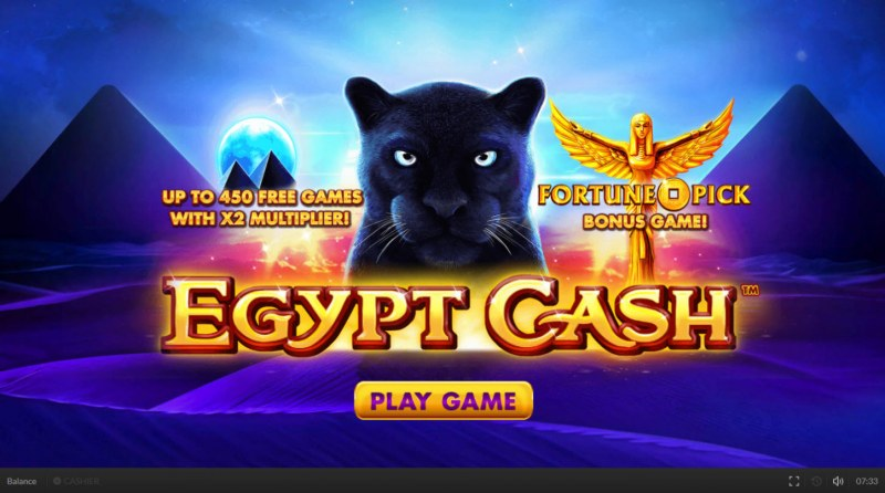 Egypt Cash :: Introduction