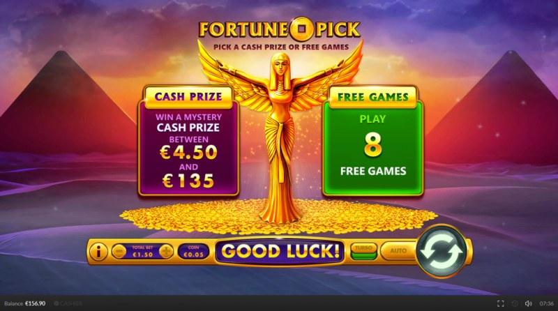 Egypt Cash :: Pick Me Bonus