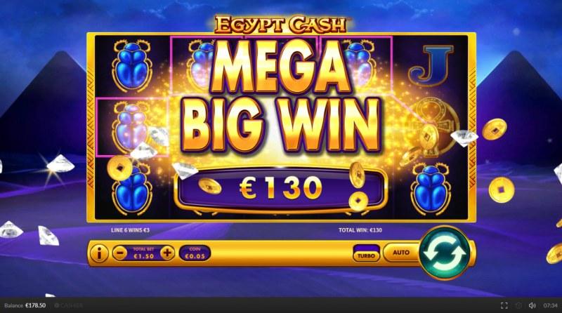 Egypt Cash :: Mega Win