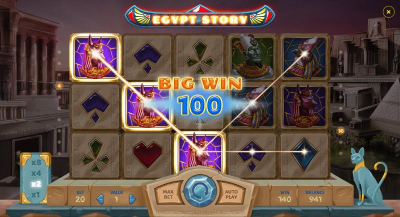 Egypt Story :: Big Win