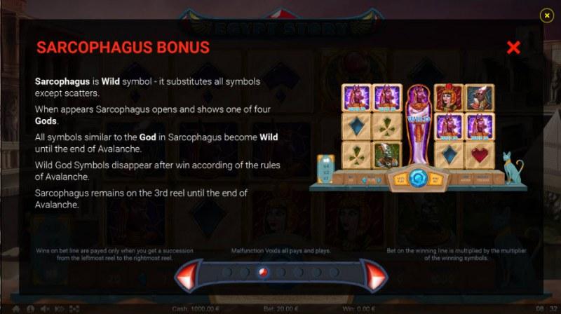 Egypt Story :: Sarcophagus Bonus