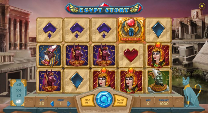 Egypt Story :: Main Game Board