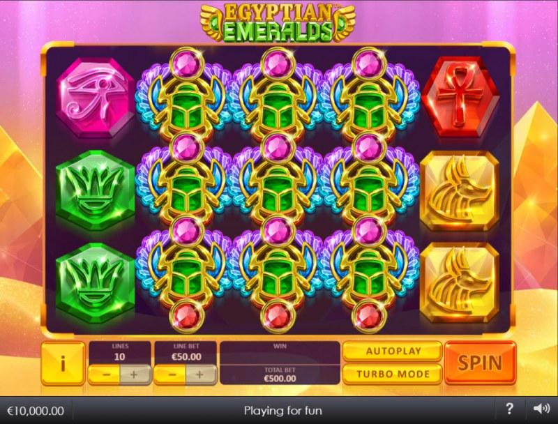 Egyptian Emeralds :: Main Game Board