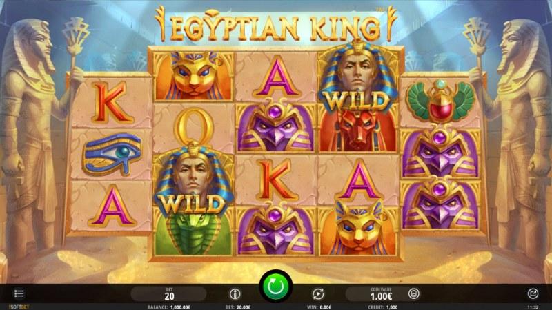 Egyptian King :: Main Game Board