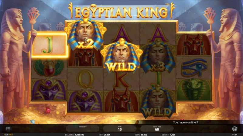 Egyptian King :: Mystery X2 multiplier awarded