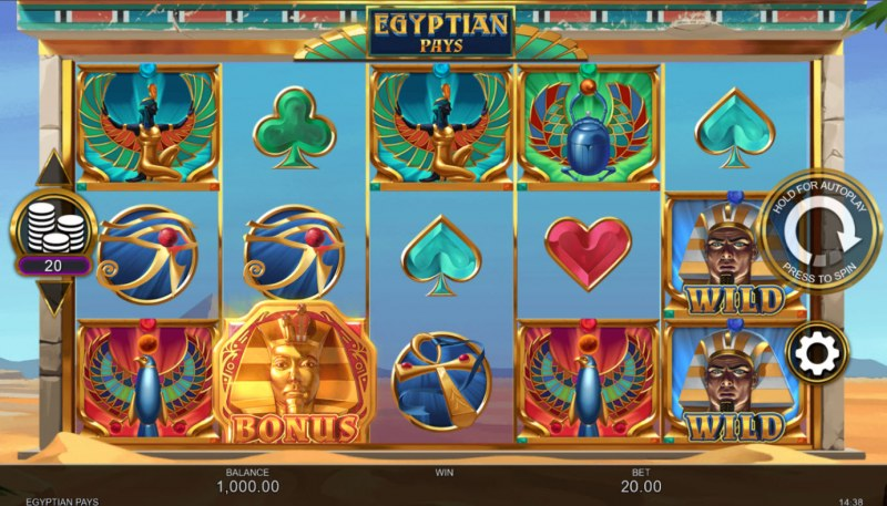 Egyptian Pays :: Base Game Screen