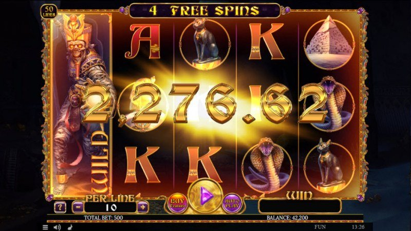 Egyptian Rebirth II :: Free Spins Game Board