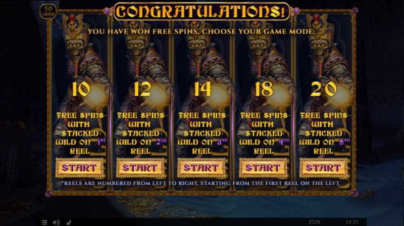 Egyptian Rebirth II :: Pick Your Free Games