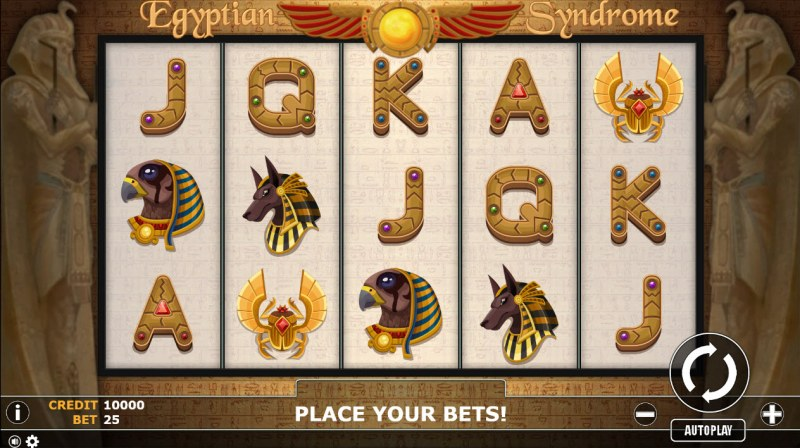Egyptian Syndrome :: Main Game Board