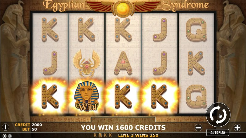Egyptian Syndrome :: Multiple winning paylines