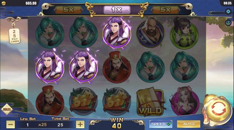 Eight Immortals :: Three of a kind
