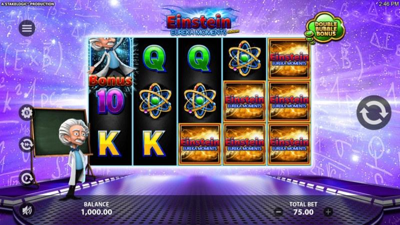 Einstein Eureka Moments :: Main Game Board
