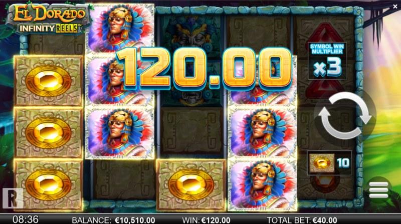 El Dorado Infinity Reels :: A four of a kind win