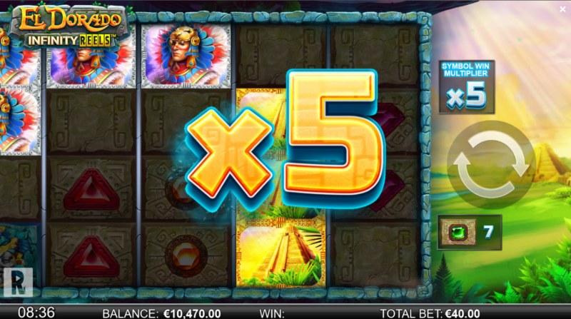 El Dorado Infinity Reels :: X5 Win Multiplier