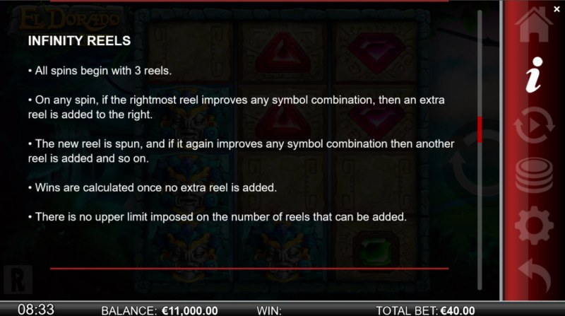El Dorado Infinity Reels :: Infinity Reels