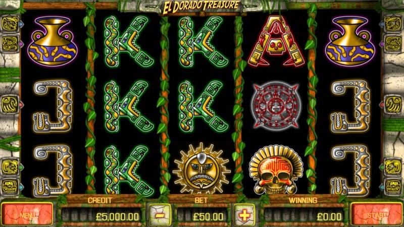 El Dorado Treasure :: Main Game Board