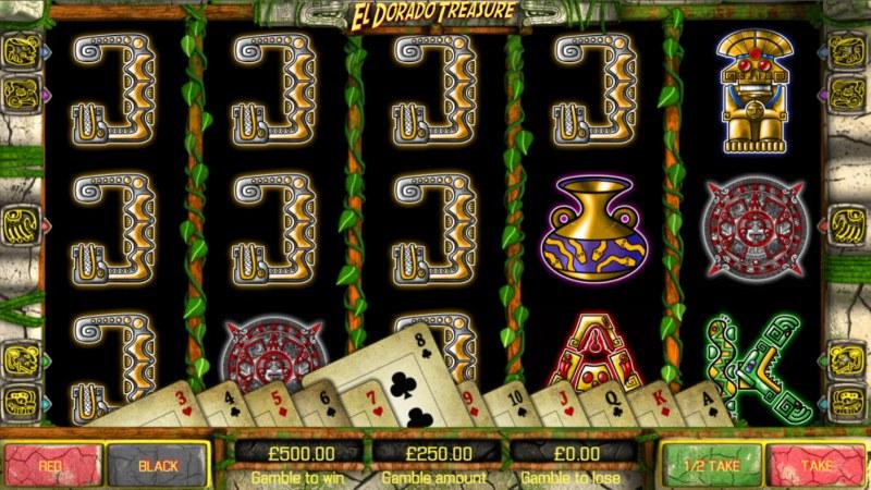 El Dorado Treasure :: Gamble feature avialable after every win