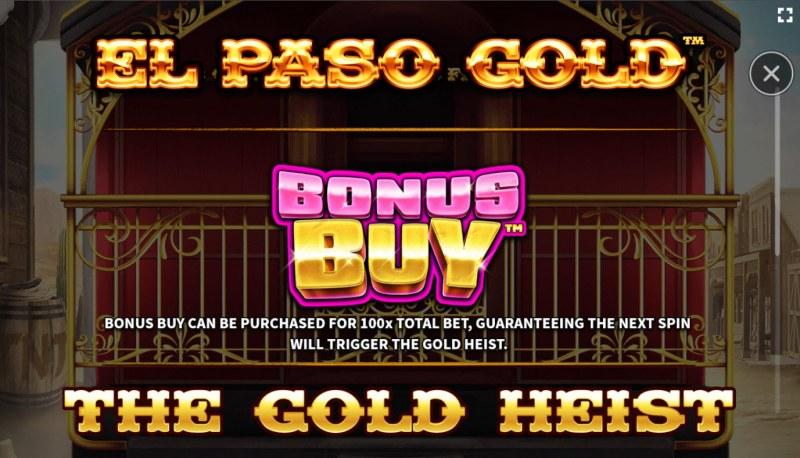 El Paso Gold :: Buy Feature