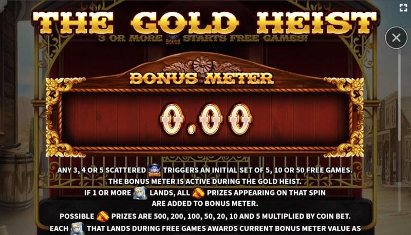 El Paso Gold :: Bonus Meter