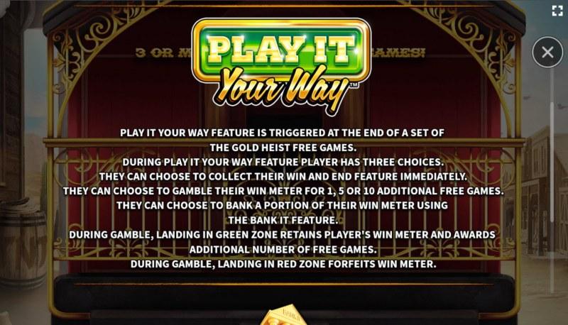 El Paso Gold :: Play It Your Way