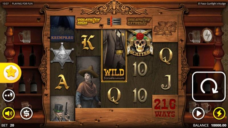 El Paso Gunfight xNudge :: Main Game Board