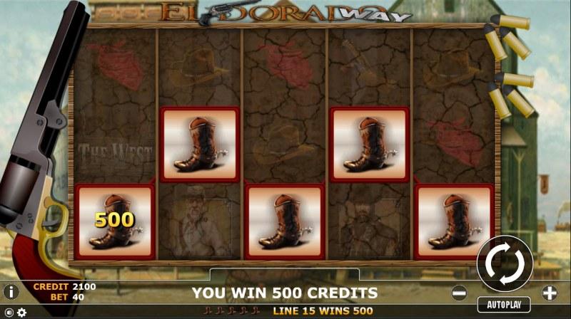 Eldorado Way :: A 5 of a kind win