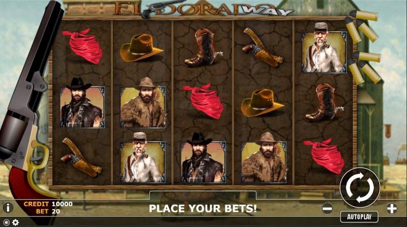 Eldorado Way :: Main Game Board