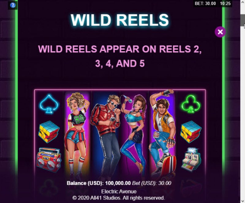 Electric Avenue :: Wild Reels