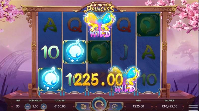 Elemental Princess :: A four of a kind win