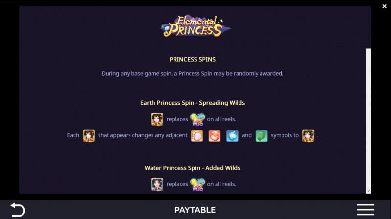 Elemental Princess :: Princess Spins