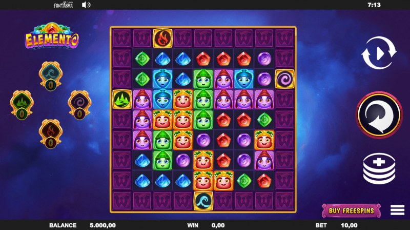 Elemento :: Main Game Board