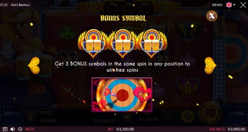 Elsa's Bierhaus :: Bonus Game Rules
