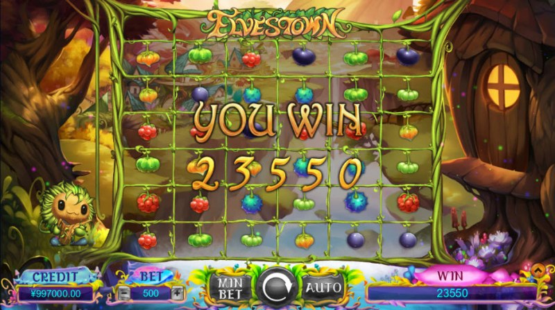 Elves Town :: Total free spins payout
