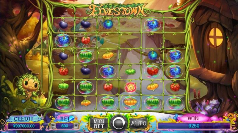 Elves Town :: Bonus game triggered