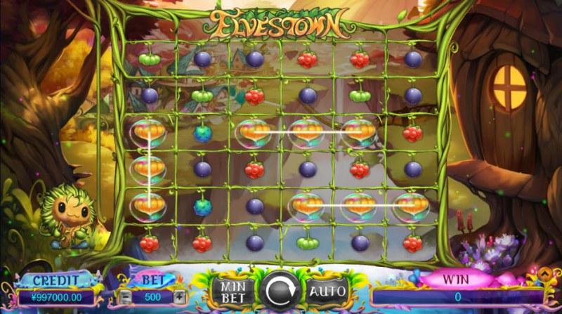 Elves Town :: Multiple winning combinations