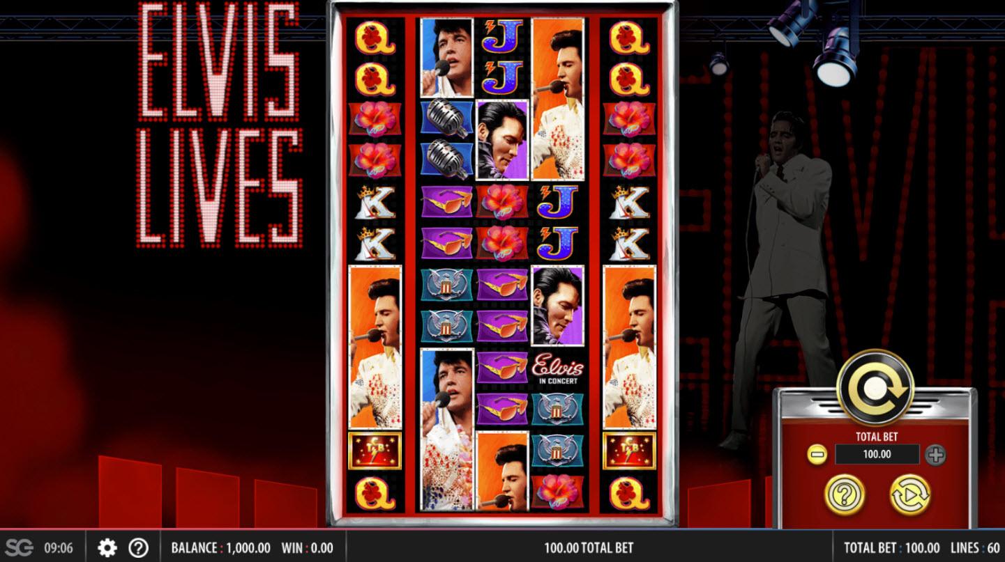 Elvis Lives :: Main Game Board