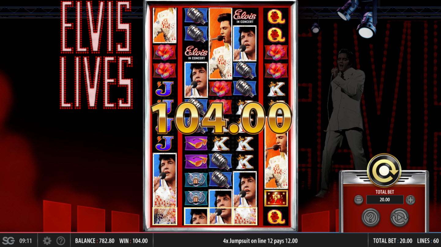 Elvis Lives :: Big Win