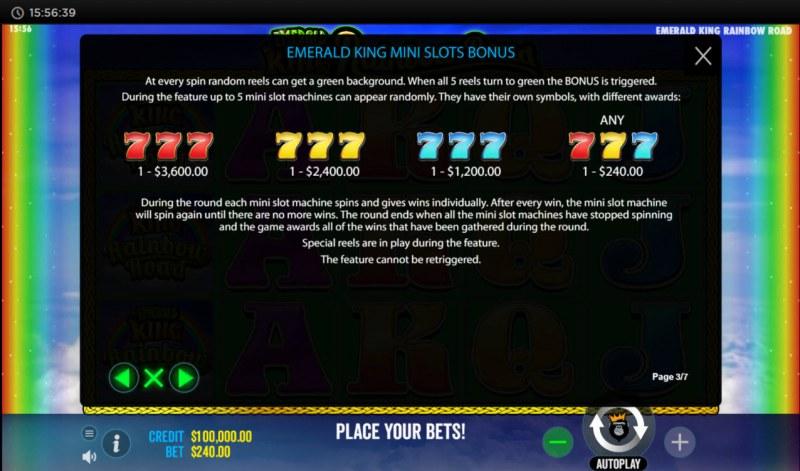 Emerald King Rainbow Road :: Bonus Feature