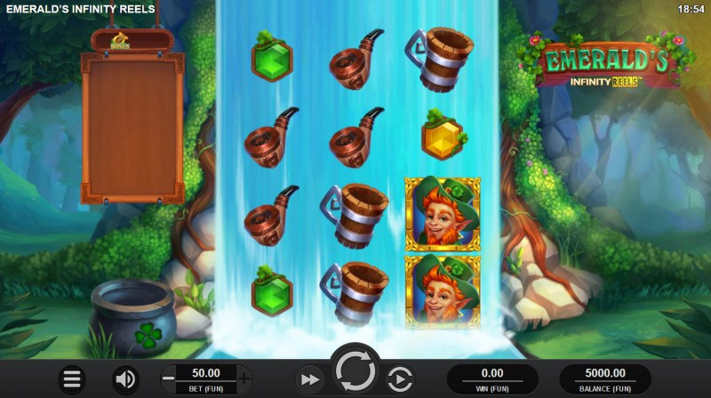 Emerald's Infinity Reels :: Main Game Board