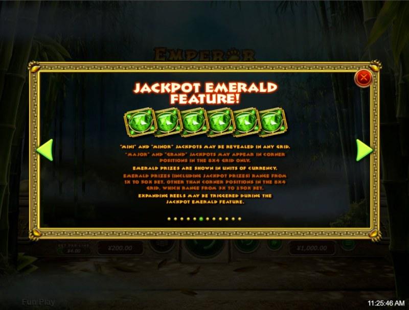 Emperor Panda :: Jackpot Rules