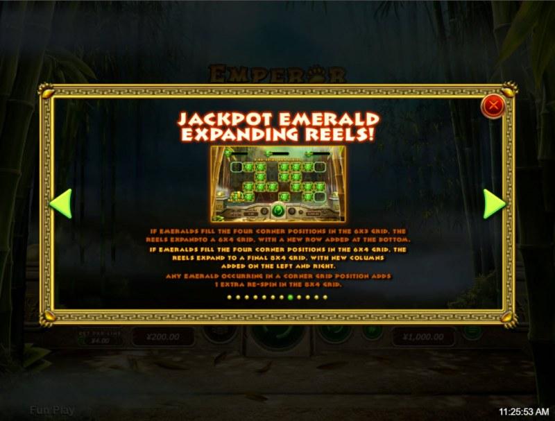 Emperor Panda :: Expanding Reels