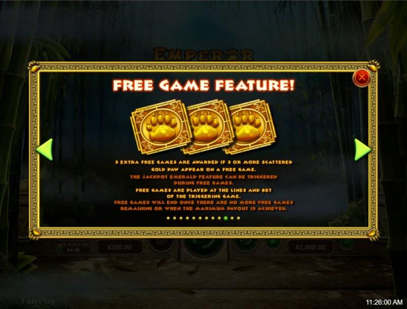 Emperor Panda :: Free Game Rules