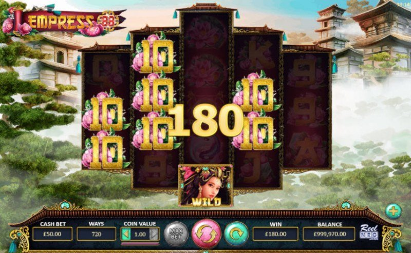 Empress 88 :: Multiple winning combinations leads to a big win