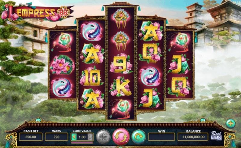 Empress 88 :: Main Game Board