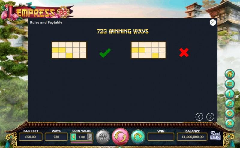 Empress 88 :: 720 Ways to Win