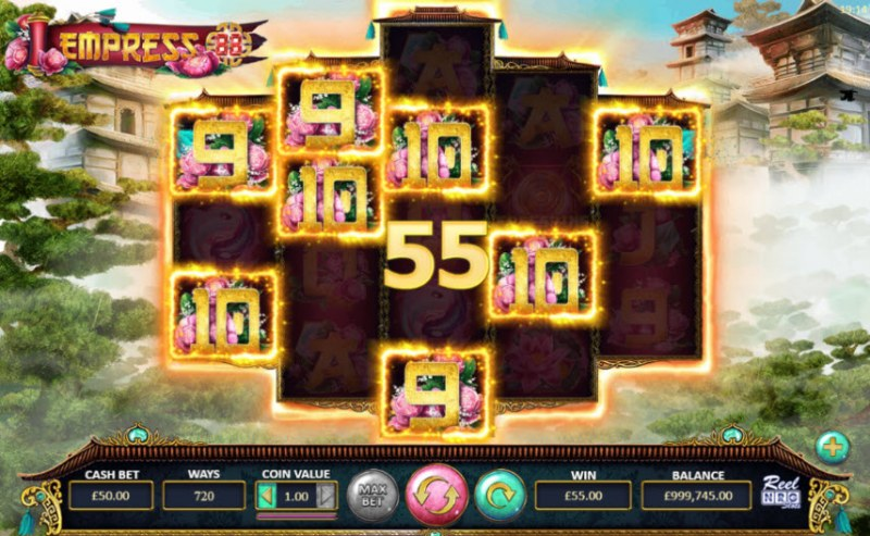 Empress 88 :: A five of a kind win