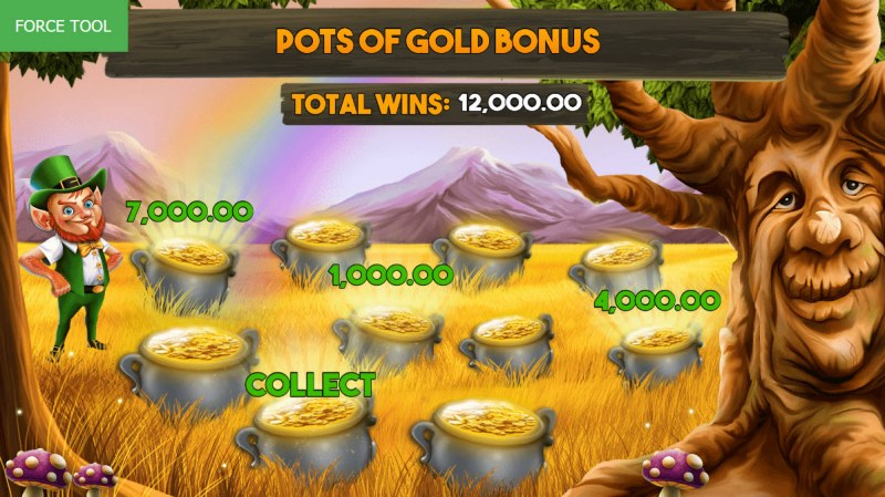 Enchanted Cash :: Bonus play ends once a collect is revealed