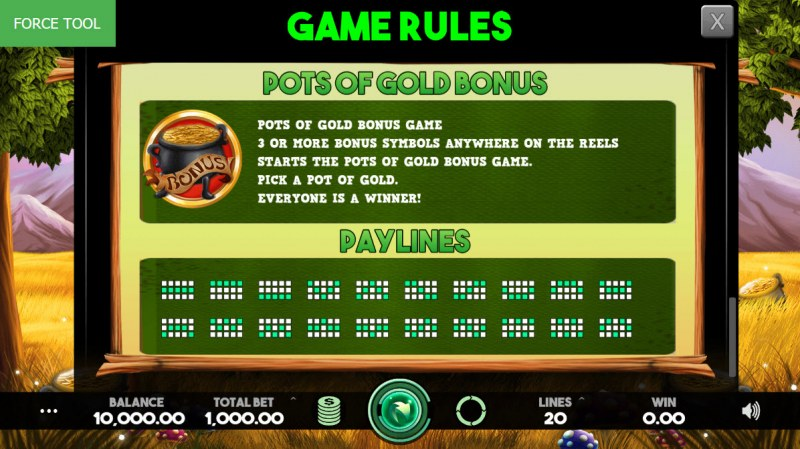 Enchanted Cash :: General Game Rules
