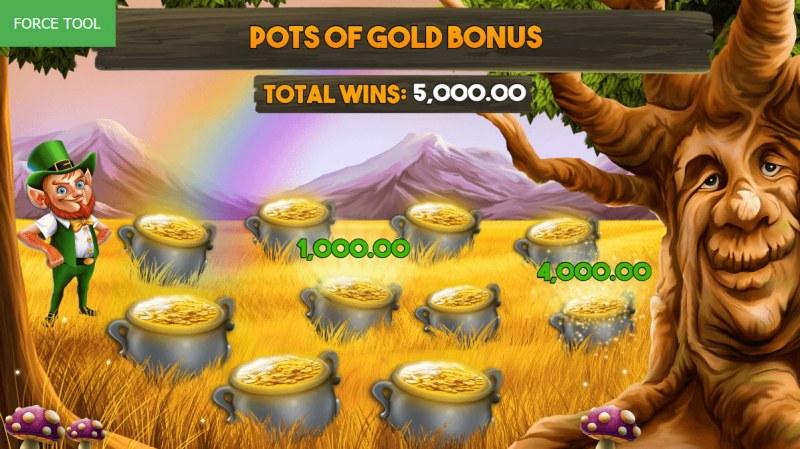 Enchanted Cash :: Pick pots of gold to reveal a cash prize